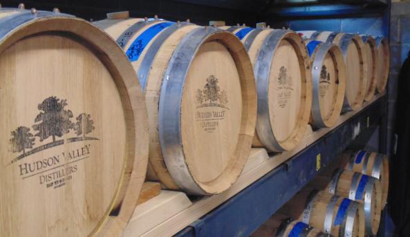 HV Distillers barrels