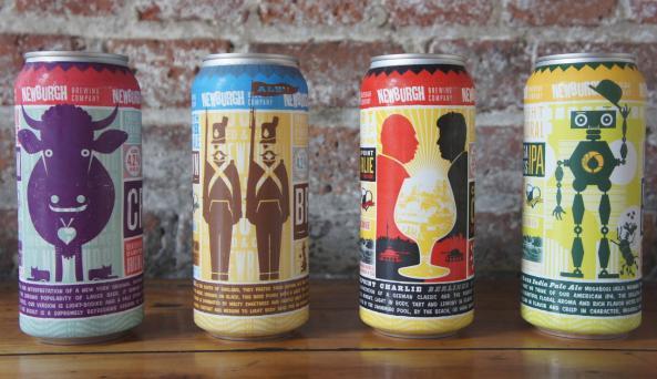 4 Newburgh Brewing Cans