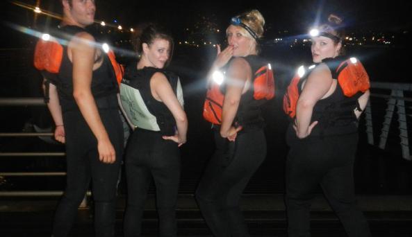 NY After Dark Kayak Tour