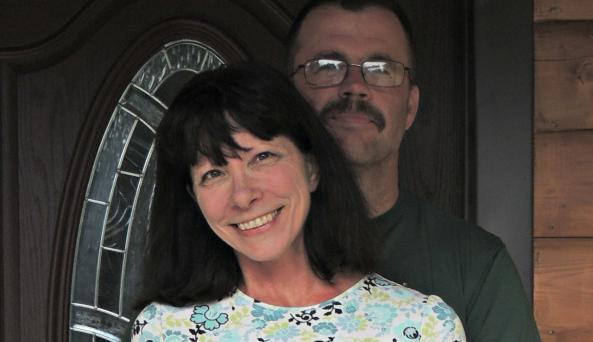 Your cabin owners, Jim and Cheryl