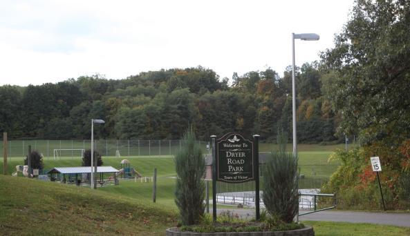 Entrance to Dryer Road Park