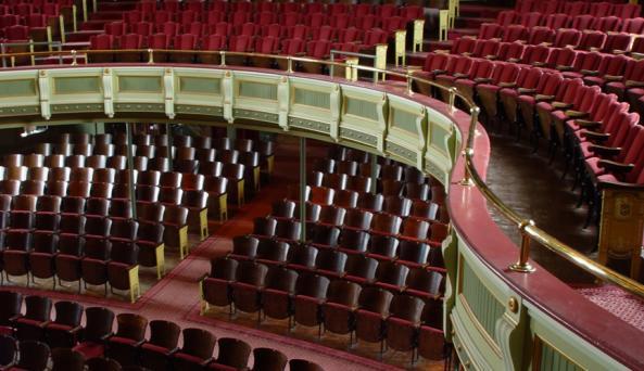 Fredonia Opera House inside
