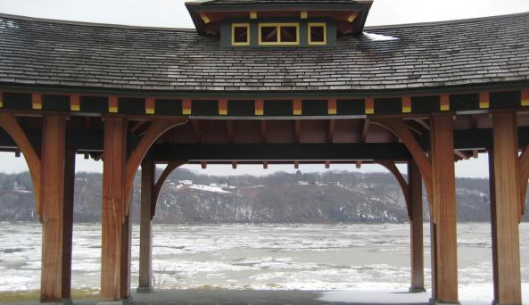 Marist - river ice