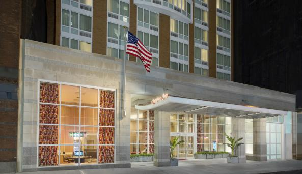 Exterior Image of Hampton Inn Manhattan/Times Square Central
