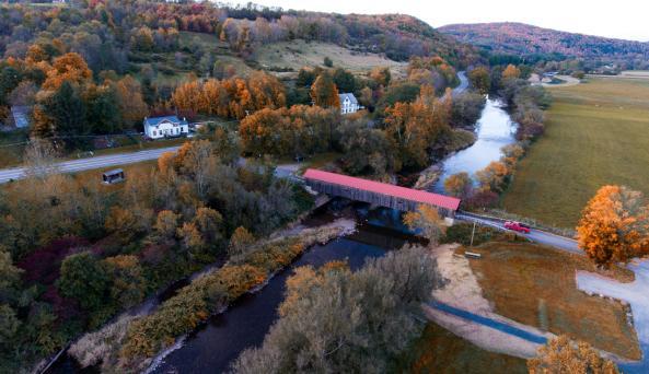 Hamden Covered Bridge - Photo by Beautiful Destinations