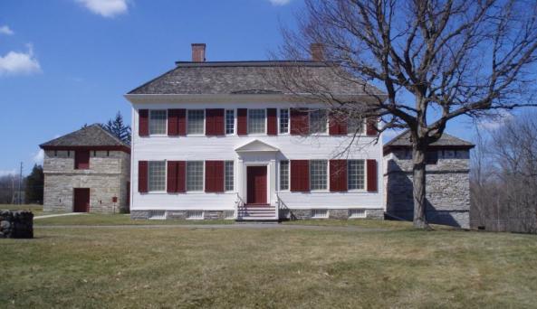 Johnson Hall State Historic Site Photo by Kari Procopio