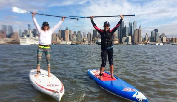 Stand Up Paddleboard SUP Skyline Tour