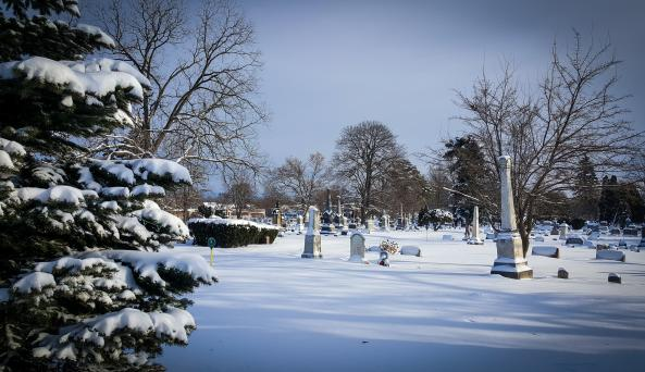 Oakwood Cemetery - Winter