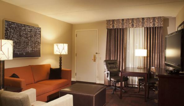 Living Room - 2 Room Suite