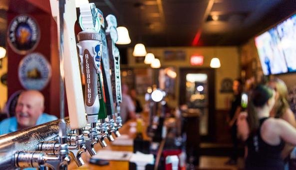 Ebenezer Ale House Craft Beer Selection