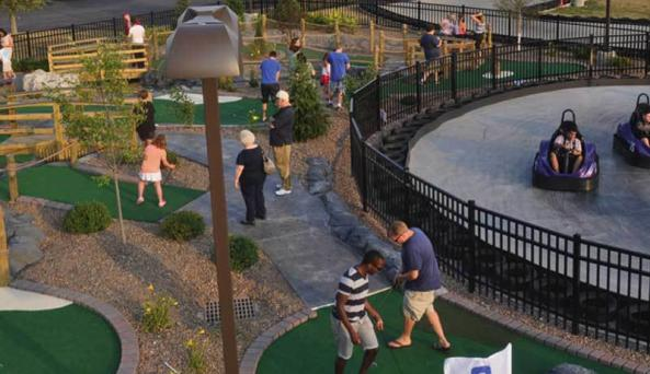 Mini-Golf/Go-Karts from Above