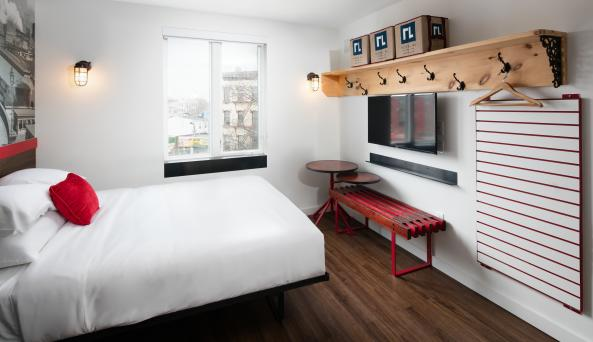 Queen Bed Accommodations