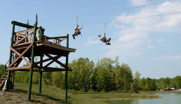 Eagle's Nest Zipline Rides