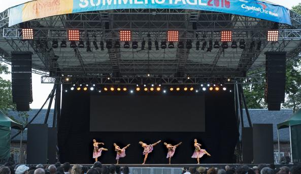 SummerStage in Central Park dance performance, photo (c) Jack Vartoogian/Front Row Photos