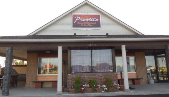 Outside of Prosecco Italian Restaurant