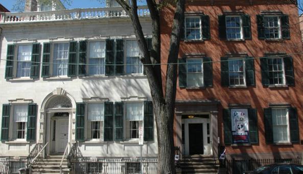 Exterior of the Hart-Cluett House