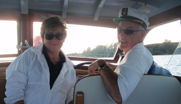Classic Cruises - Captain Rich and First Mate Peg