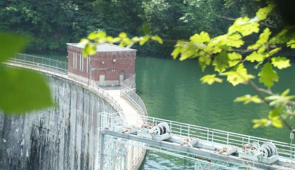 Rushford Lake Dam
