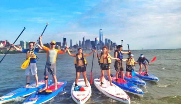 Stand Up Paddleboard Skyline Tour
