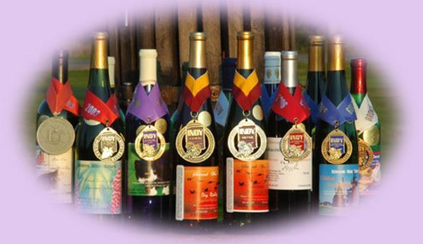 Display of Schwenck Wine choices