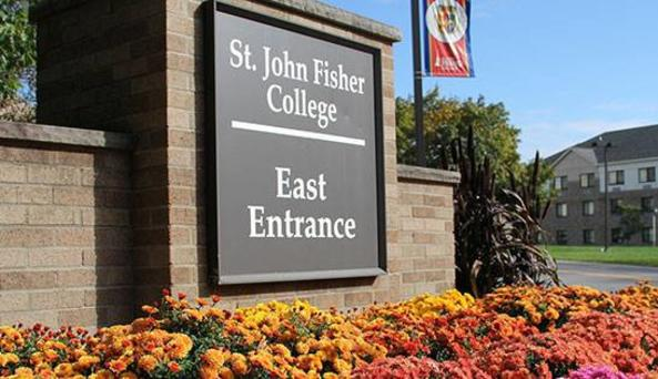 St. John Fisher Entrance