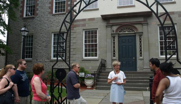 Stockade Walking Tour Kingston