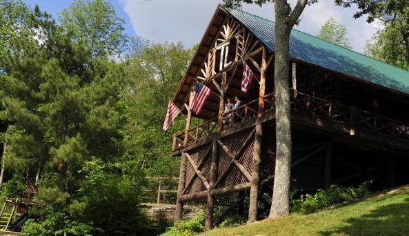 Timberlock Camp on Indian Lake