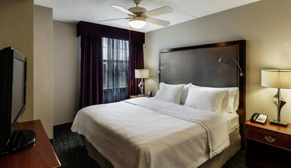 One King Suite Bedroom