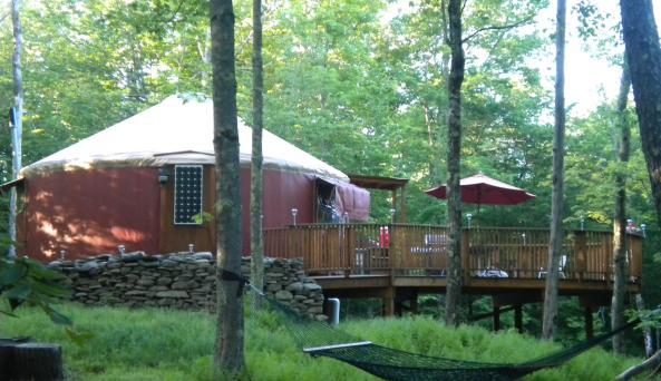 Willowemoc Wild Forest Yurt