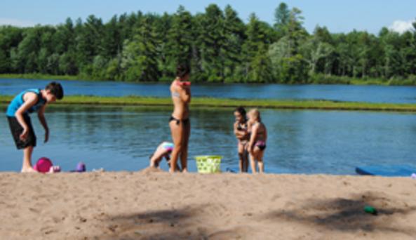 Carterville Acres Family Campground Beach