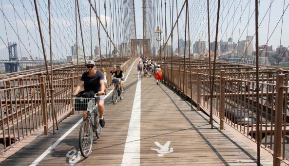 Brooklyn Bridge Bike Rent