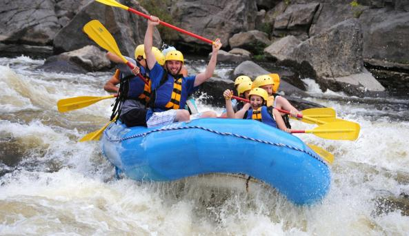 Black River Class II-IV+ Whitewater Rapids