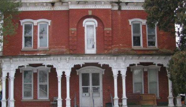 The Brick Haunted House