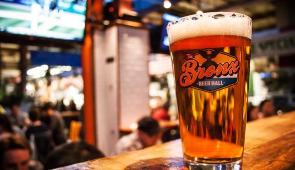 Bronx Beer Hall, beer