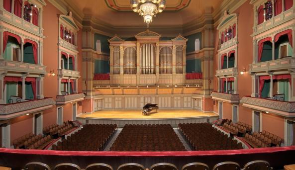 Troy Saving Bank Music Hall by Randall Perry