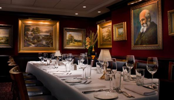 olmstead room interior at The Capital Grille Time Life
