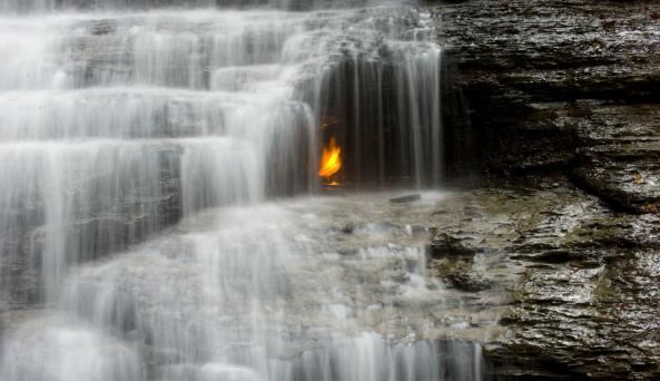 Chestnut Ridge Park Eternal Flame
