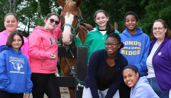 Pine Ridge - Where Girl Power Meets Horse Power!