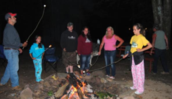 Carterville Acres Family Campground Campfire