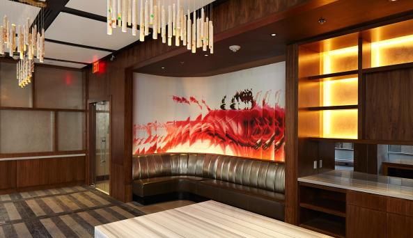hotel concierge lounge at Renaissance New York Midtown Hotel
