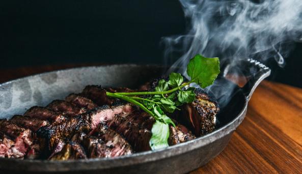 TBone steak from Charlie Palmer Steak