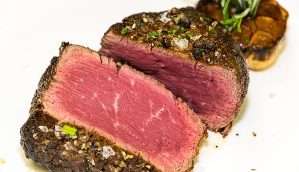 Tender Steak & Sushi