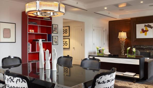 The Surrey penthouse suite