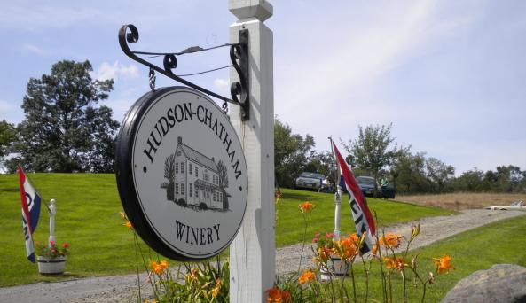 Hudson Chatham sign