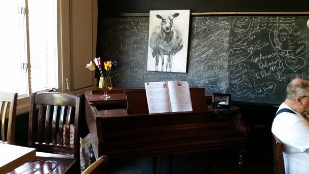 Piano in New Limburg Taproom