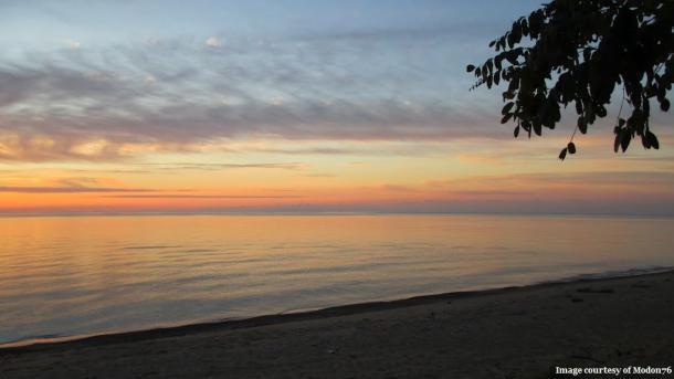 Port glasgow sunset