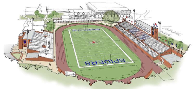 Richmond Spiders Stadium Diagram