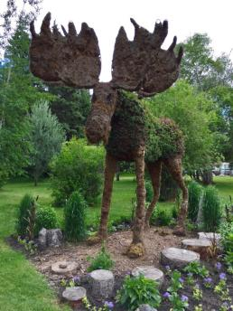 Topiary in Riding Mountain National Park, Manitoba