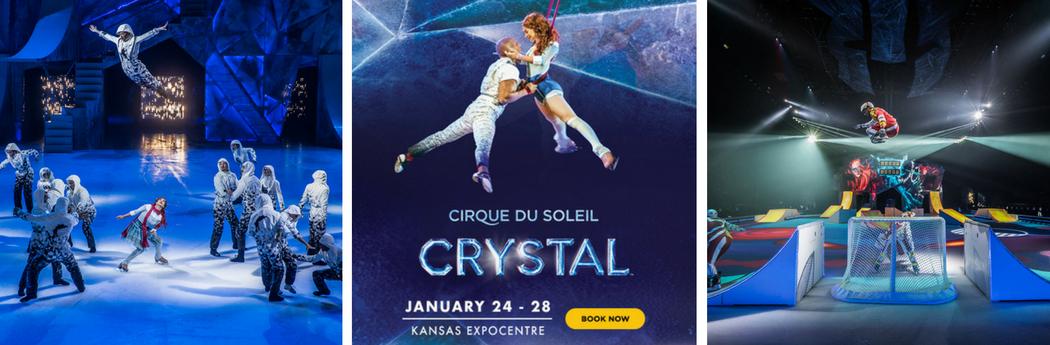 Cirque du Soleil Crystal Ad