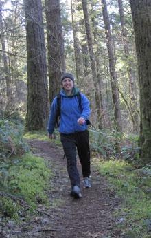 Hiking at Shotgun Creek by Stacey Malstrom
